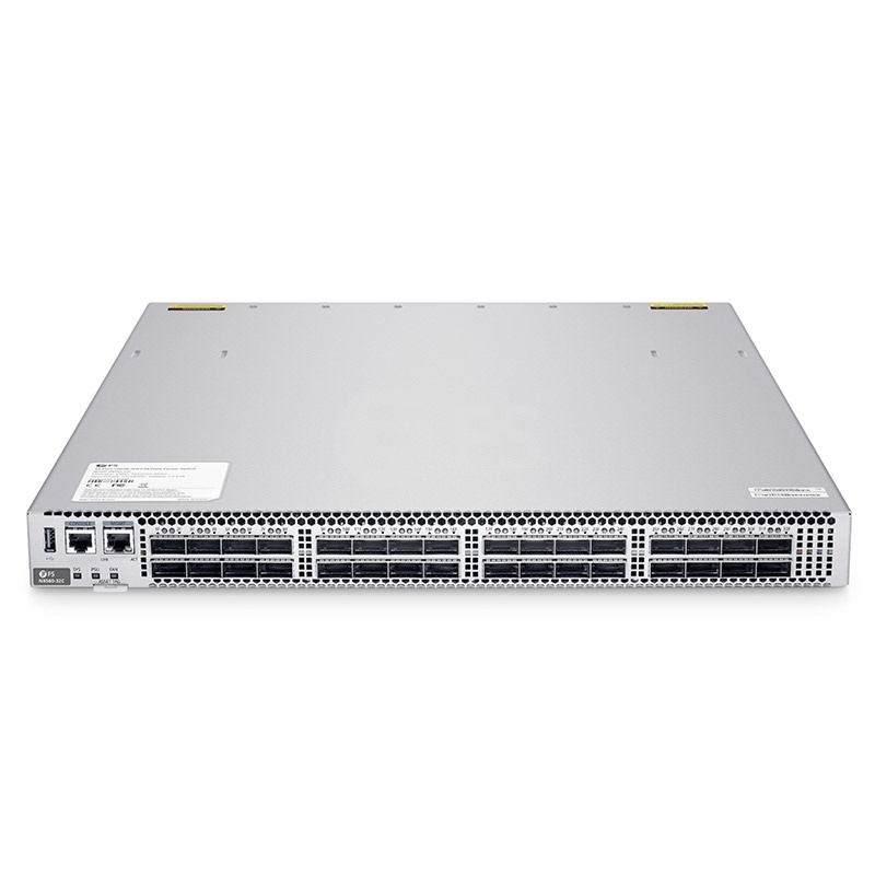 N8560-32C, 32-Port L3 Data Center Switch, 32 x 100Gb QSFP28, Support Stacking, Broadcom Chip, Software Installed