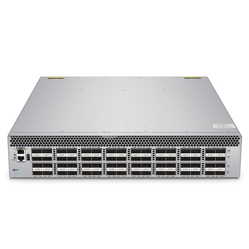 N8560-64C, 64-Port L3 Data Centre Switch, 64 x 100Gb QSFP28, Stackable, Broadcom Chip, Software Installed