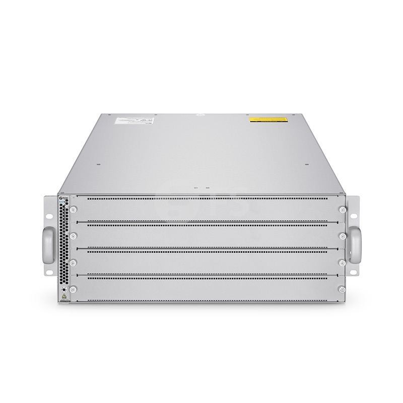 NC8400-4TH, 4-Slot 4U L3 Data Center Chassis Switch Unloaded, Supports 4 x 32-Port 100Gb QSFP28 Line Card, Broadcom Chip, Software Installed