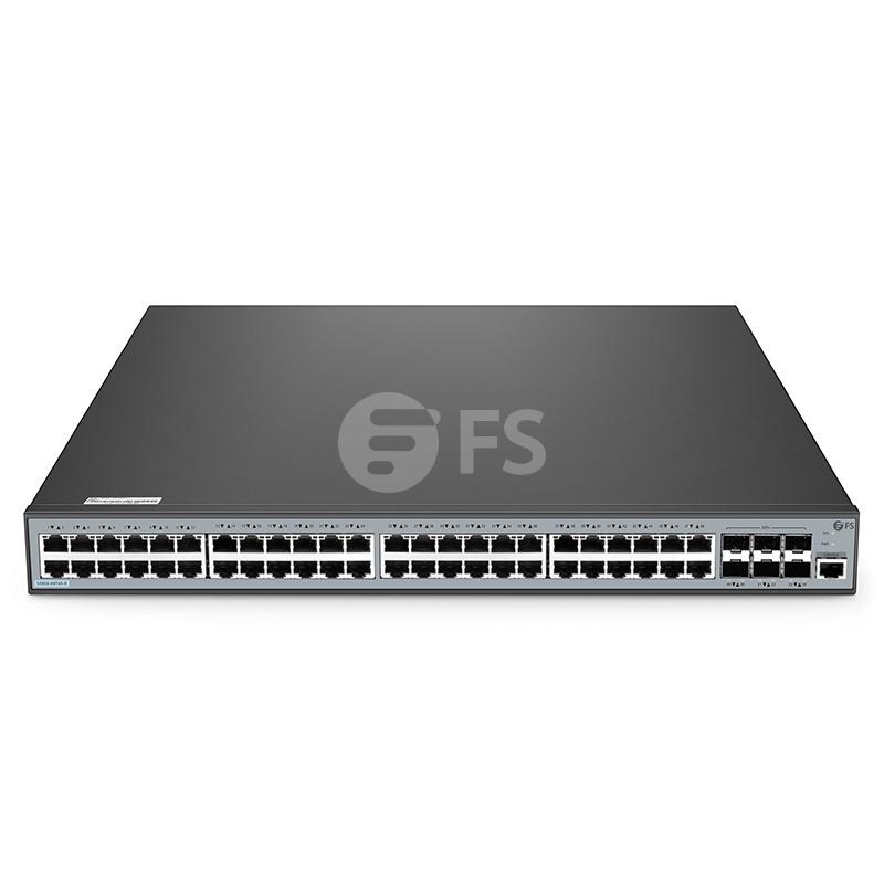 S3900-48T6S-R, switch completamente adiministrable capa 2+ de 48 puertos gigabit ethernet, con 6 x SFP+ 10Gb