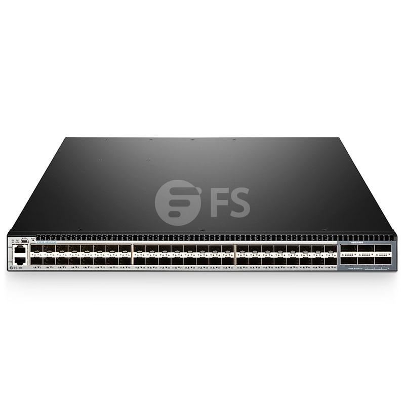 S5850-48S2Q4C, switch Ethernet Plus completamente administrable capa 3 de 48 puertos, 48 x SFP+ 10Gb, con 2 x QSFP+ 40G y 4 x enlaces ascendentes QSFP28 100G