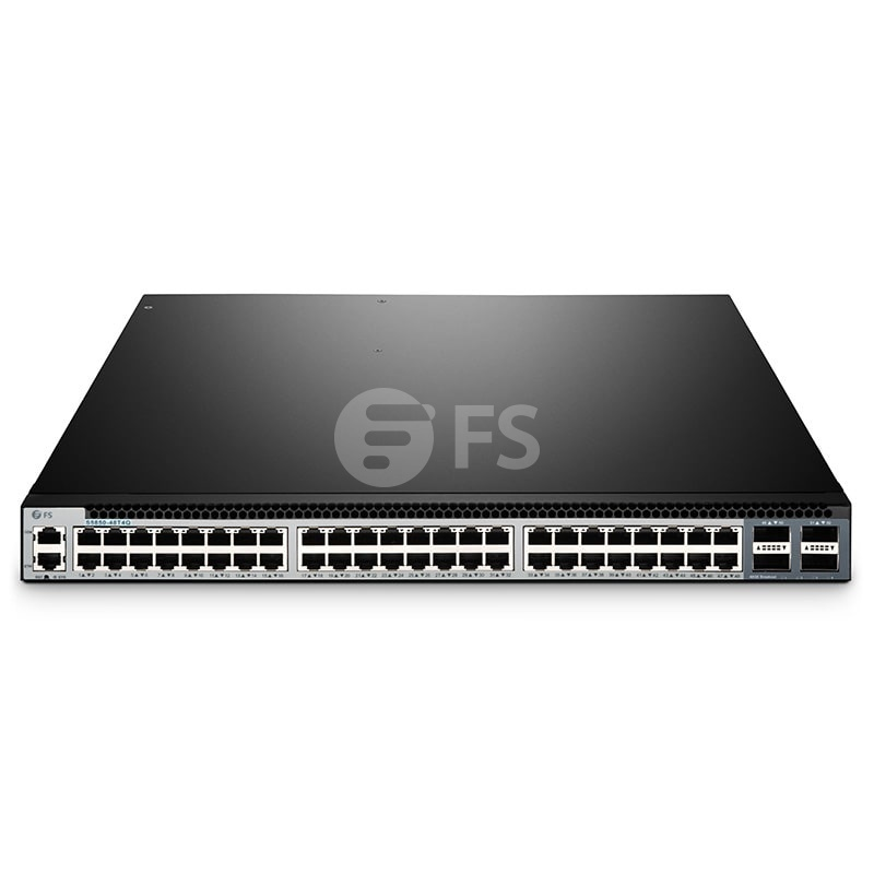 S5850-48T4Q, 48-Port Ethernet L3 Fully Managed Plus Switch, 48 x 10G BASE-T, with 4 x 40Gb QSFP+ Uplinks
