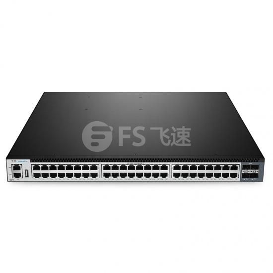 S5800-48T4S 48口 L2/L3 三层交换机(48*10/100/1000BASE-T + 4*10G Uplinks),5年质保