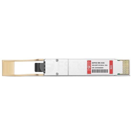思科(Cisco)兼容QDD-400G-SR8-S QSFP-DD PAM4光模块 850nm 100m DOM