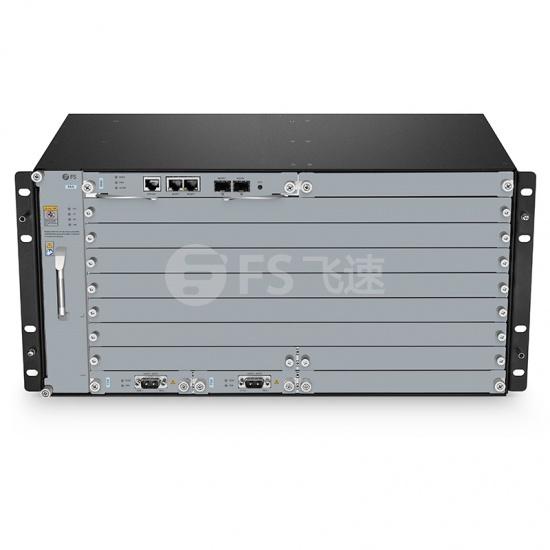 M6500 5U管理机箱,支持6 X 200G 复用转发器