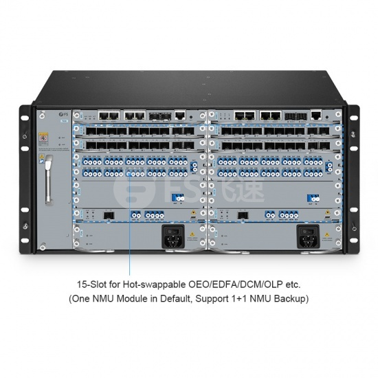 M6200系列5U管理机箱,空机箱,带15个插槽