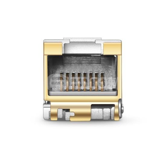 博科(Brocade)兼容10G-SFPP-T-I SFP+万兆工业级电口模块 30m