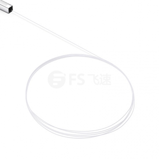 1x8 250μm裸纤式单模 PLC平面波导光分路器,无连接头