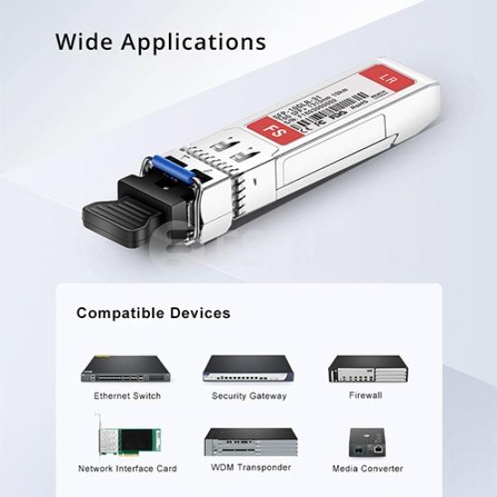 惠普(HP)兼容/华三(H3C)兼容JD092B SFP+万兆光模块 850nm 300m