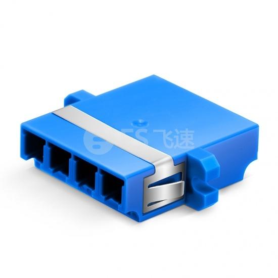 LC/UPC-LC/UPC 四工单模光纤适配器电信级