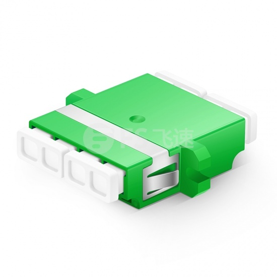 LC/APC-LC/APC 四工单模光纤适配器电信级