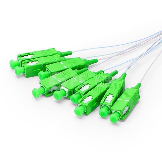 1×8  900μm 微型单模PLC平面波导型光分路器,SC/APC