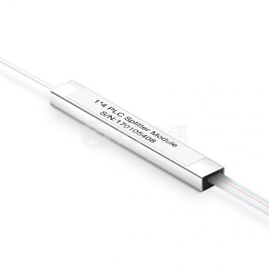 1×4  900μm 微型单模PLC平面波导型光分路器,SC/APC
