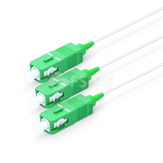 1×2  900μm 微型单模PLC平面波导型光分路器,SC/APC