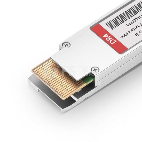 思科(Cisco)兼容QDD-400G-DR4-S 400G QSFP-DD 硅光光模块1310nm 500m MTP/MPO DOM