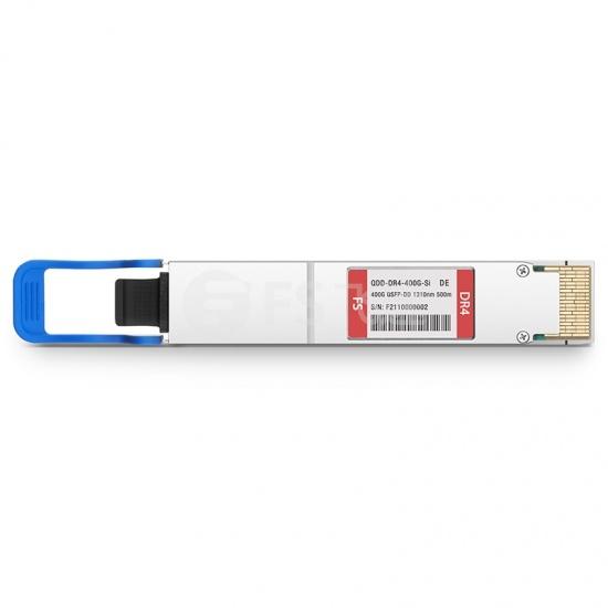 戴尔(Dell)兼容QDD-DR4-400G-Si 400G QSFP-DD 硅光光模块1310nm 500m MTP/MPO DOM