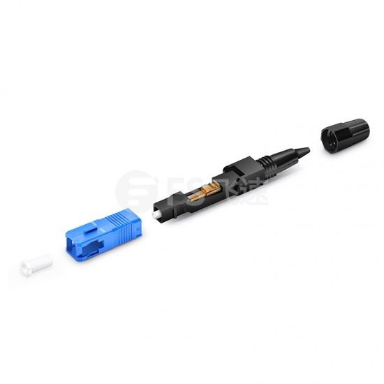 预埋式 SC/UPC单模 光纤快速连接器