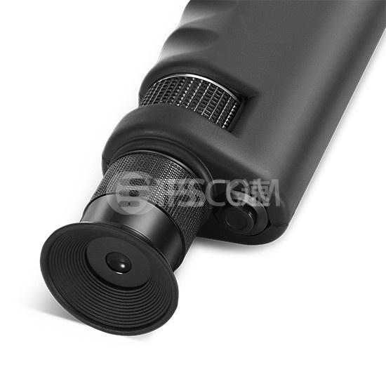 400X 手持式光纤检测显微镜,带2.5mm&1.25mm LC/ SC / ST / FC适配器