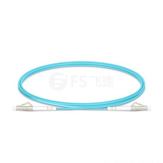定制LC/SC/FC/ST/LSH 单工多模OM4铠装光纤跳线