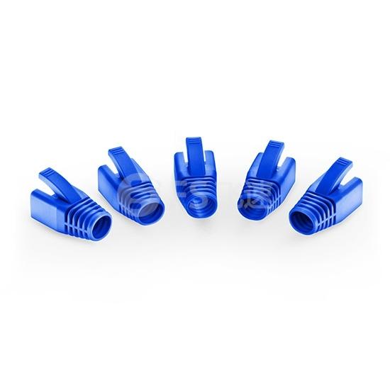 Cat6&Cat6a屏蔽(STP)RJ45水晶头保护套-蓝色  50个/袋