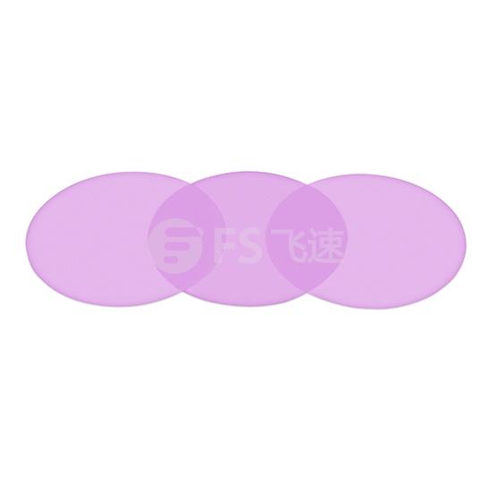 1um 紫色研磨纸 直径127毫米