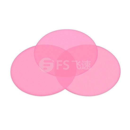 3um 粉红色研磨纸 直径127毫米