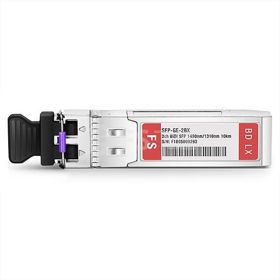 思科(Cisco)兼容GLC-2BX-D  2通道 BiDi SFP千兆单纤双向光模块1490nm-TX/1310nm-RX 10km