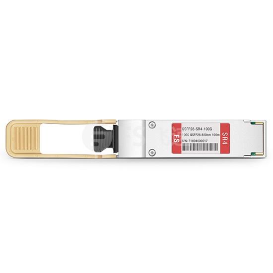 飞速(FS) 100GBASE-SR4 QSFP28光模块 850nm 100m