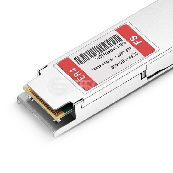 飞速(FS) 40GBASE-ER4 OTU3 QSFP+光模块 1310nm 40km LC