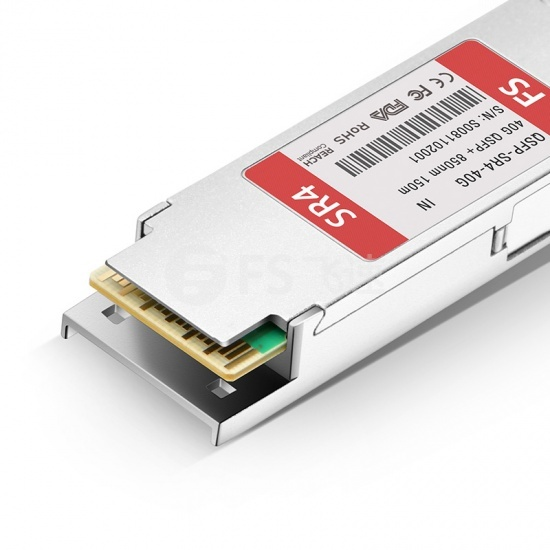 英特尔(Intel)兼容E40GQSFPSR QSFP+光模块 850nm 150m MTP/MPO
