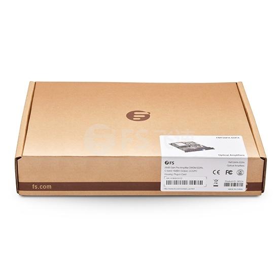 C-band 40通道 DWDM EDFA 掺铒光前置放大器 26db增益 输出光功率16dbm,热插拔,用于FMT光传输平台