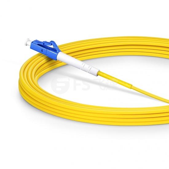 5m LC/UPC-LC/UPC单工单模OS2光纤跳线-2.0mm PVC(OFNR)
