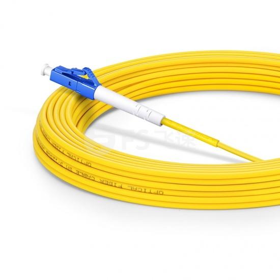 30m LC/UPC-LC/UPC单工单模OS2光纤跳线-2.0mm PVC(OFNR)