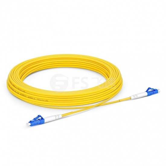 15m LC/UPC-LC/UPC单工单模OS2光纤跳线-2.0mm PVC(OFNR)