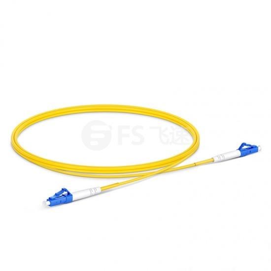 1m LC/UPC-LC/UPC单工单模OS2光纤跳线-2.0mm PVC(OFNR)