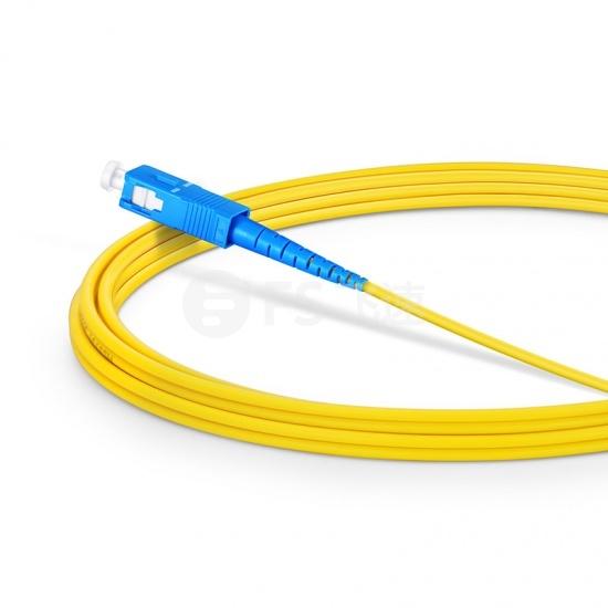 3m LC/UPC-SC/UPC单工单模OS2光纤跳线-2.0mm PVC(OFNR)