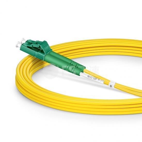 3m LC/APC-LC/APC双工单模OS2光纤跳线-2.0mm PVC(OFNR)