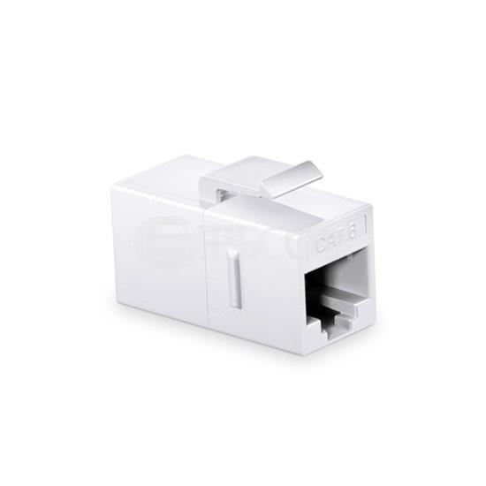 Cat6六类非屏蔽(UTP)网络直通模块 - 白色