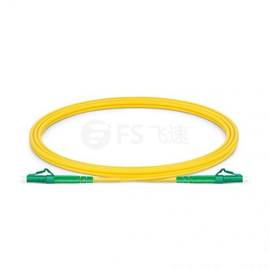 2m LC/APC-LC/APC单工单模OS2光纤跳线-2.0mm PVC(OFNR)