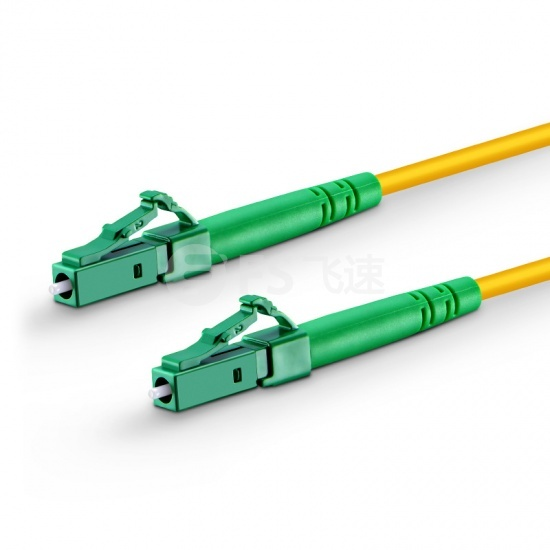 15m LC/APC-LC/APC单工单模OS2光纤跳线-2.0mm PVC(OFNR)