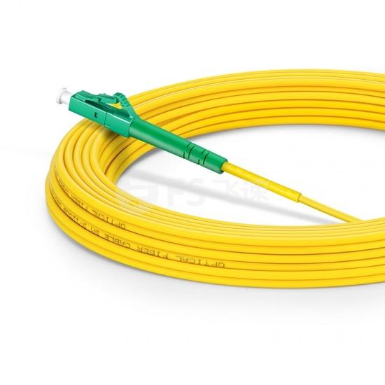 10m LC/APC-LC/APC单工单模OS2光纤跳线-2.0mm PVC(OFNR)