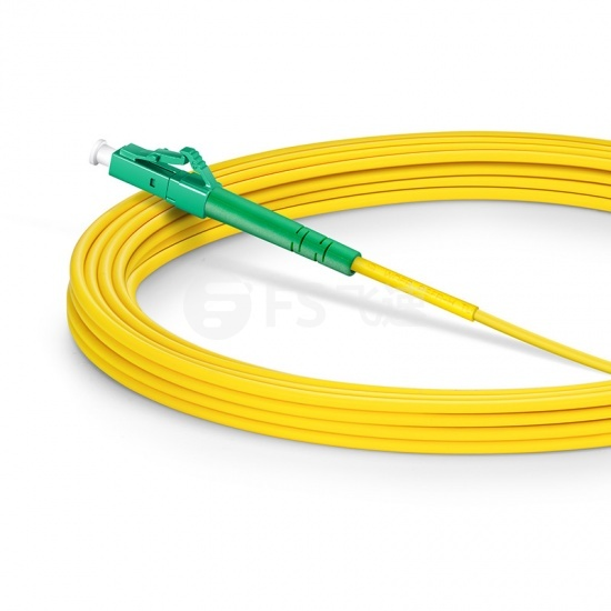 7m LC/APC-LC/APC单工单模OS2光纤跳线-2.0mm PVC(OFNR)