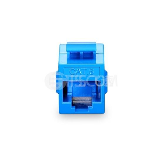 Cat6六类非屏蔽(UTP)网络直通模块 - 蓝色