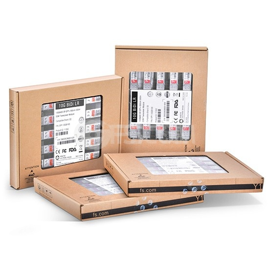 戴尔(Dell)兼容GP-SFP-10GBX-U-10 BiDi SFP+万兆单纤双向光模块  1270nm-TX/1330nm-RX 10km
