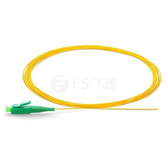 1M LC/APC 单工单模 9/125 OS2光纤尾纤-0.9mm PVC外护套