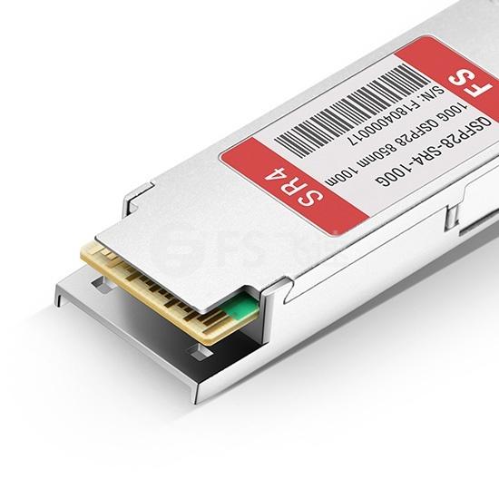 思科(Cisco)兼容QSFP-100G-SR4-S QSFP28光模块 850nm 100m