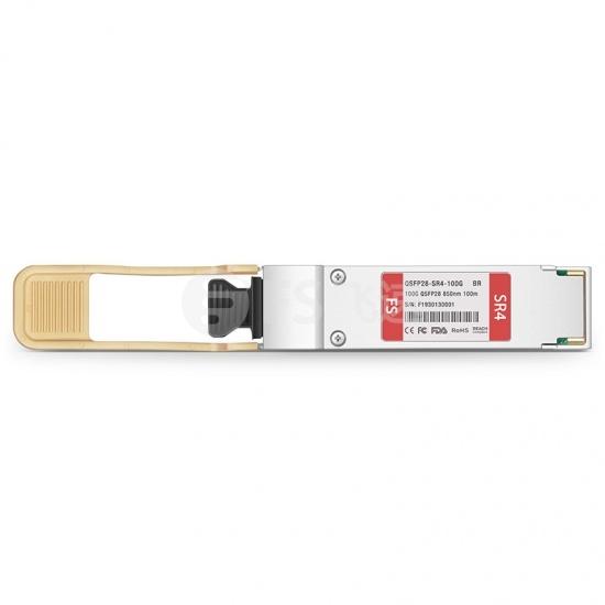 博科(Brocade)兼容100G-QSFP28-SR4 QSFP28光模块 850nm 100m