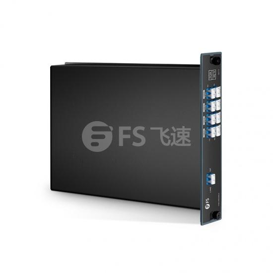 8通道 C21-C35 DWDM密集波分复用器&解复用器 插入式 A端