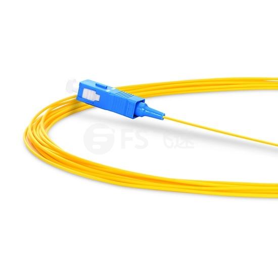 2M SC/UPC 单工单模 9/125 OS2光纤尾纤-0.9mm PVC外护套