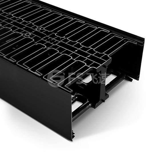 45U 4.9英寸 塑料双面垂直理线架 22.5U机架单元